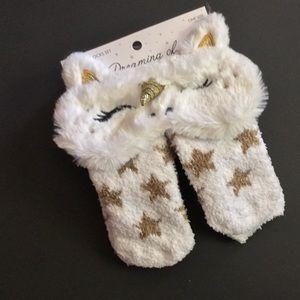 Unicorn 🦄 Eye Mask and Cozy Sock Set